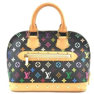 Alma  Monogram Canvas Satchel